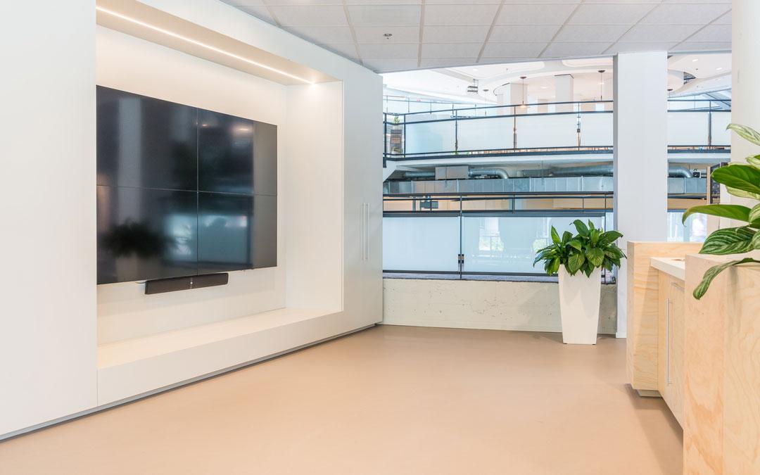 Fußboden Corques Liquid Lino – Greenchoice Office