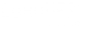 Corques Liquid Lino Logo in weiß