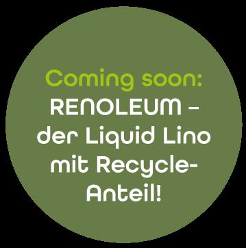Störer Liquid Lino mit Recycle Anteil