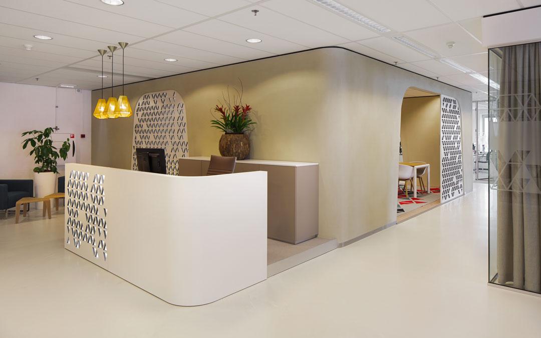 Durapure Fußboden im Office